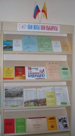Книжная выставка «Нам жить! Нам выбирать!» 0